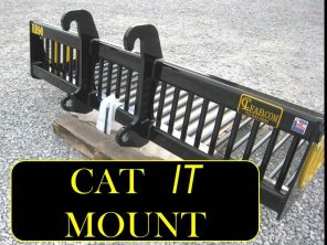 EZ Rock Bucket with CAT IT Mount CL FABRICATION