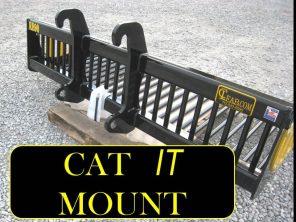 EZ Rock Bucket with CAT IT Mount