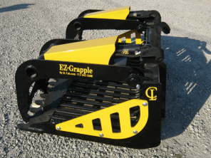 EZ Rock Bucket with Grapple SKID STEER CL FABRICATION
