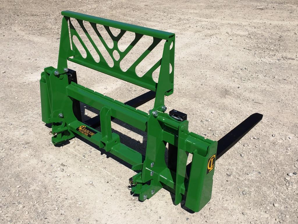 Jd Tractor Forks : Pallet forks skid steer tractor