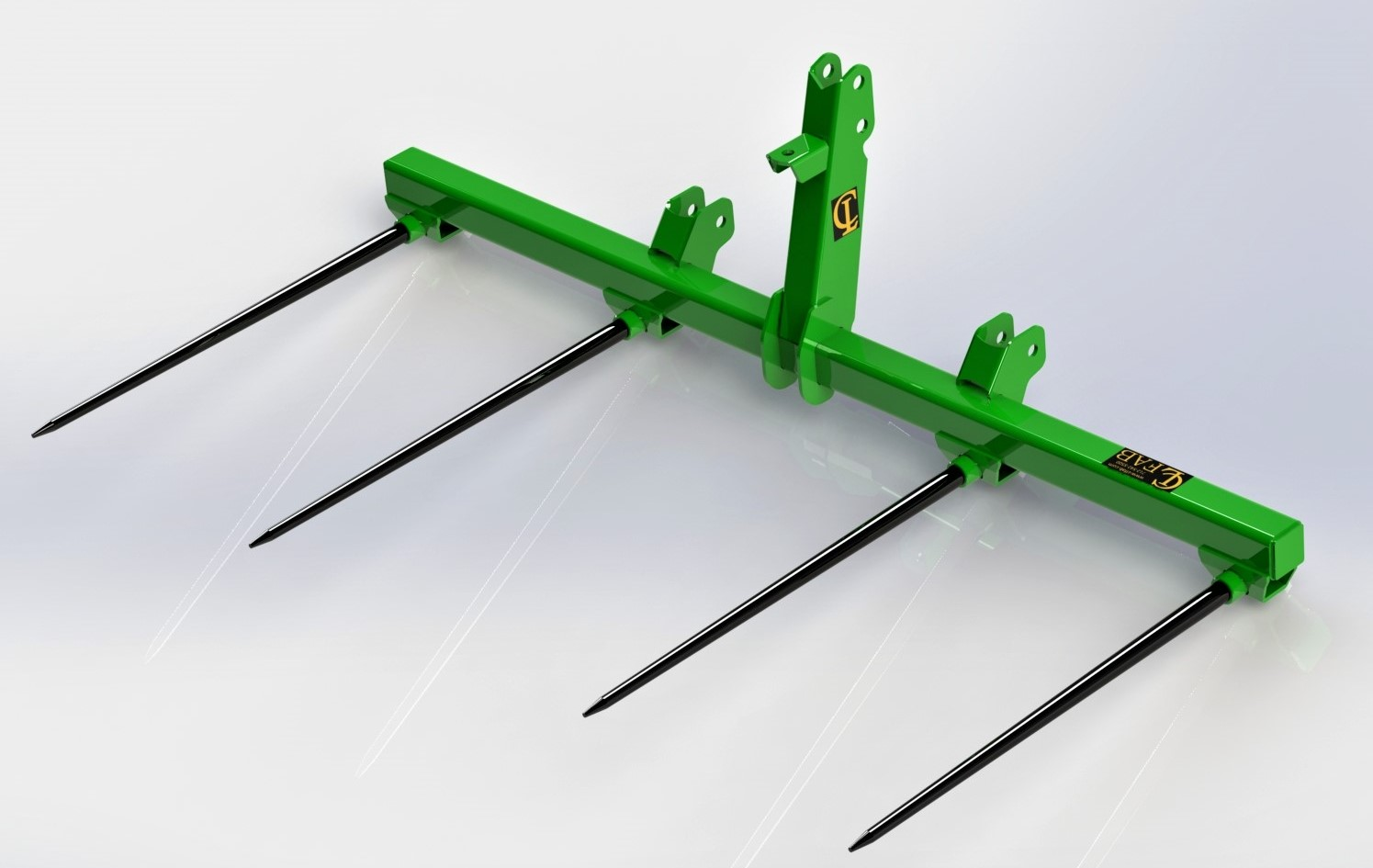 Bale Spear 3 Point | Bale Spears Attachments
