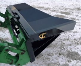 Tree Transplanter Scoop Mounted