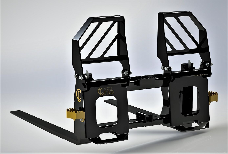John Deere Skid Steer >> Pallet Forks | Skid Steer Forks | Tractor Forks