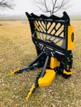 skid loader tree puller