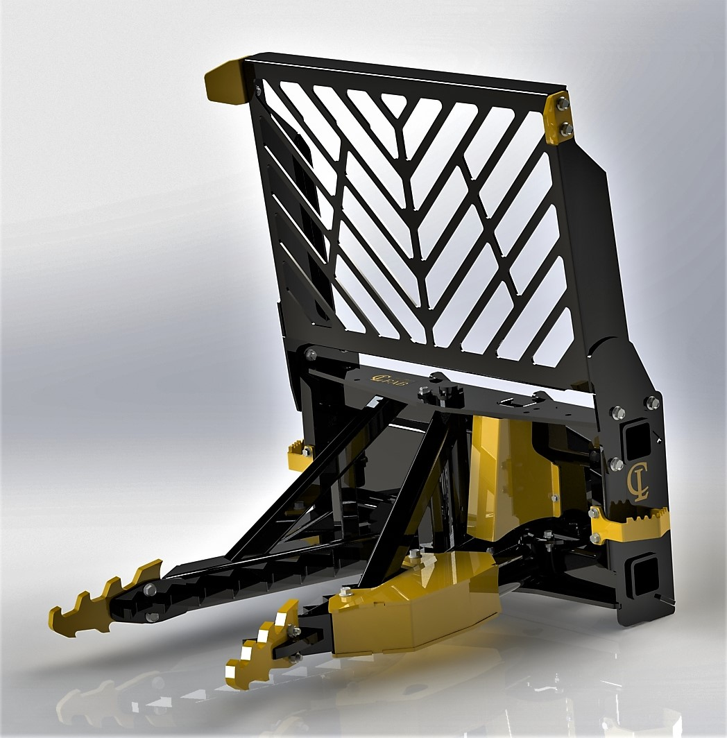 Root Rake For Skid Steer